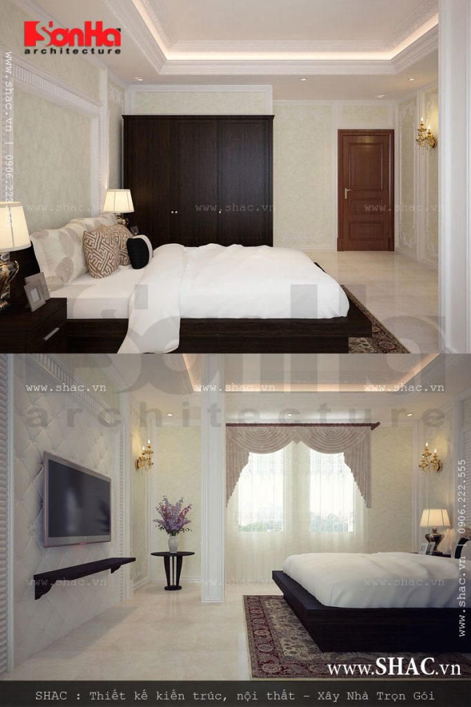 Phòng ngủ đẹp cho khách sạn