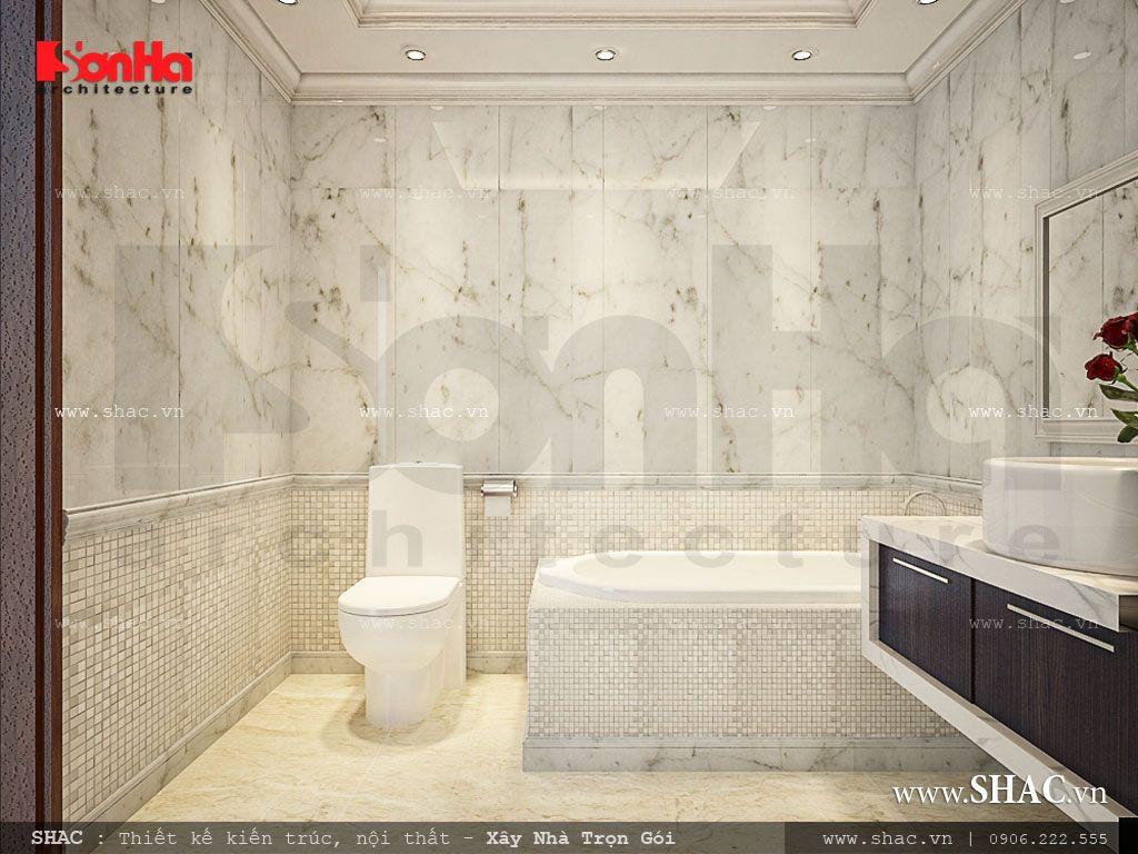 Thiết kế phòng WC có phòng tắm