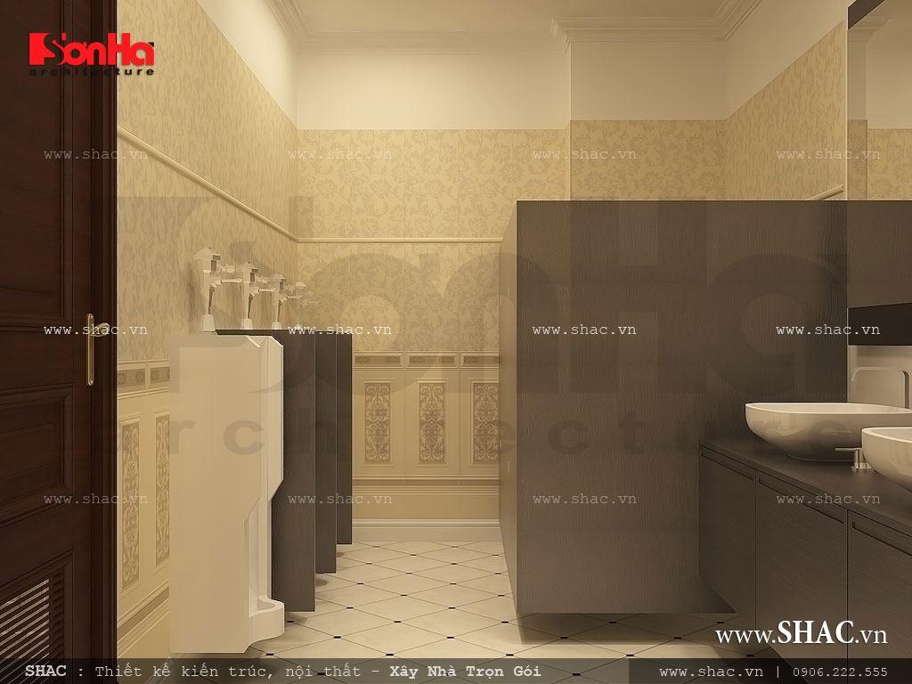 Thiết kế nội thất phòng tắm và vệ sinh