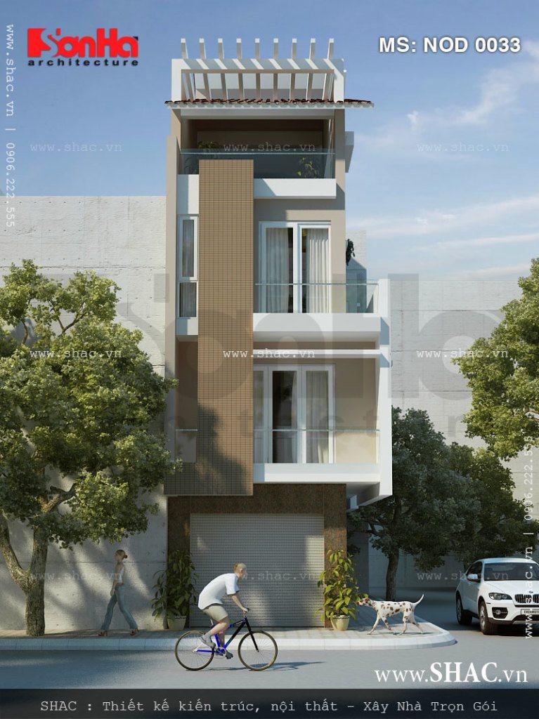 Nhà lô 4 tầng