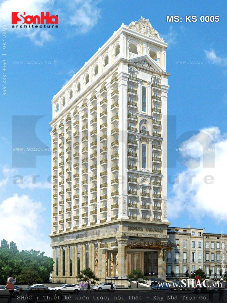 Khách sạn 17 tầng