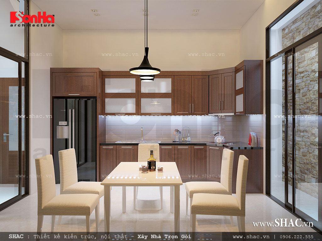 Phòng bếp ăn đơn giản