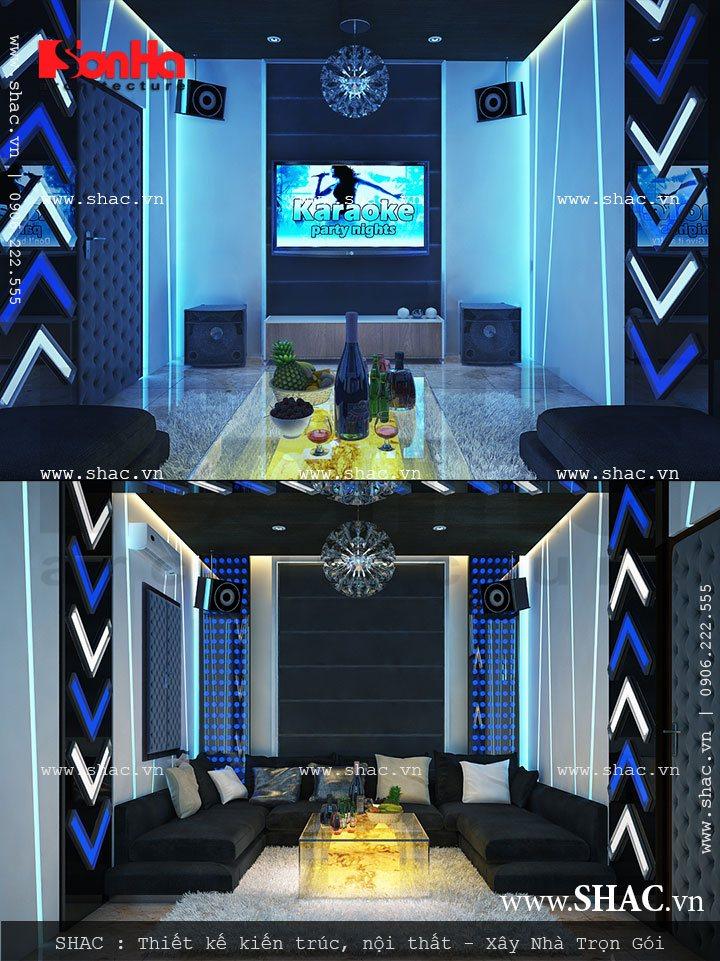 Thiết kế phòng hát tại nhà