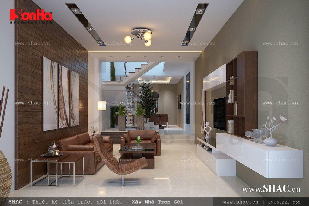 Thiết kế phòng khách cho nhà ống diện tích nhỏ, phong khach cho nha ong dien tich nho