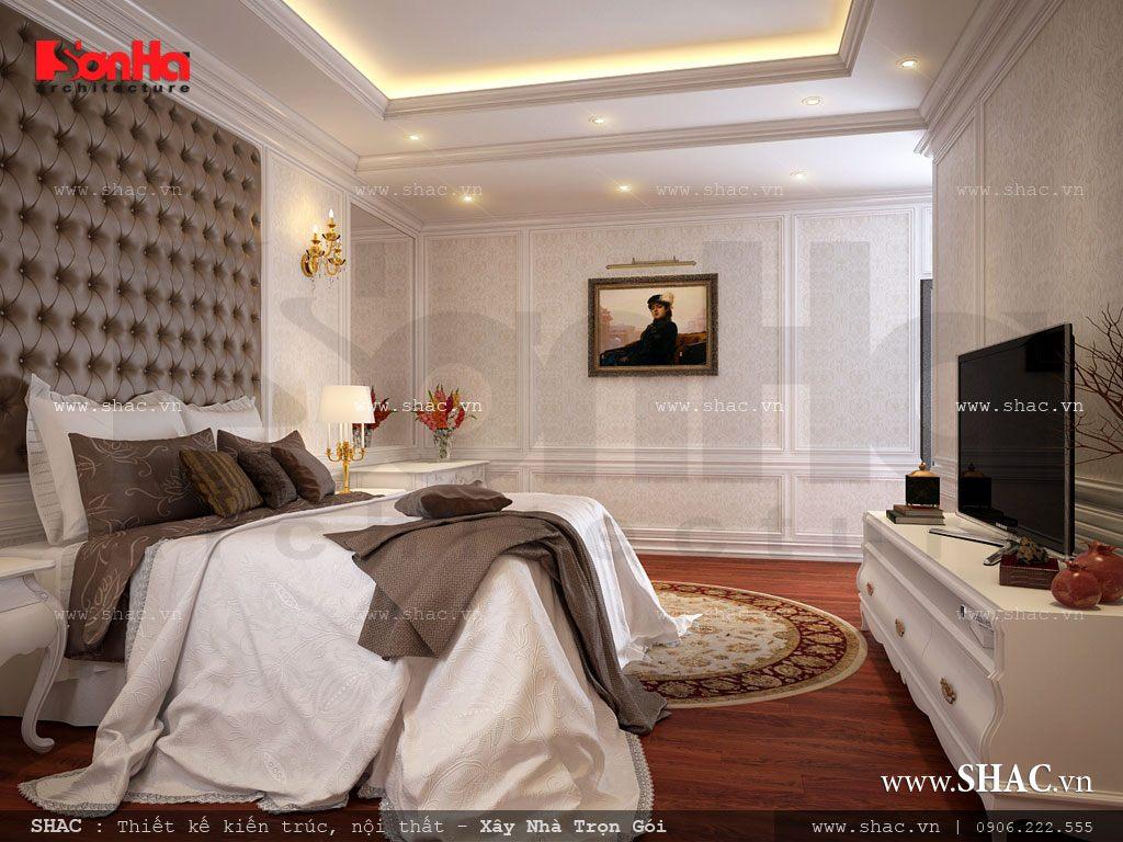 Phòng ngủ kiểu pháp sang trọng