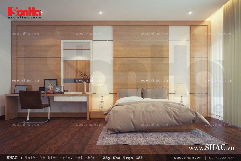 Phòng ngủ bố mẹ hiện đại