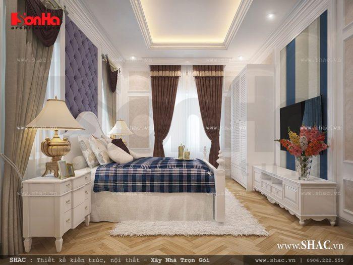Phòng ngủ tân cổ điển hiện đại