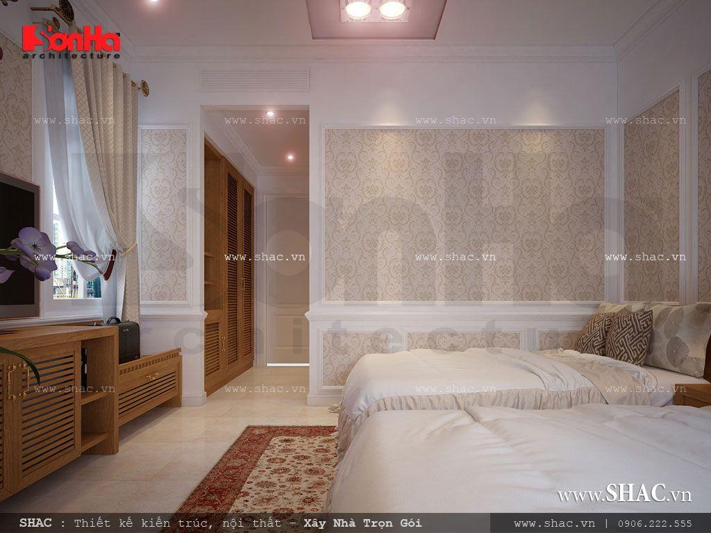 Phòng ngủ đôi khách sạn 4 sao