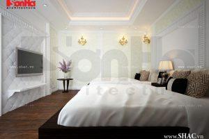 Phòng ngủ đôi rộng cho khách sạn
