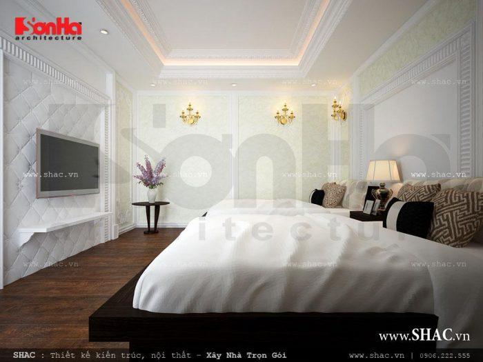 Mẫu phòng ngủ đôi của khách sạn phù hợp với du khách đi tập thể