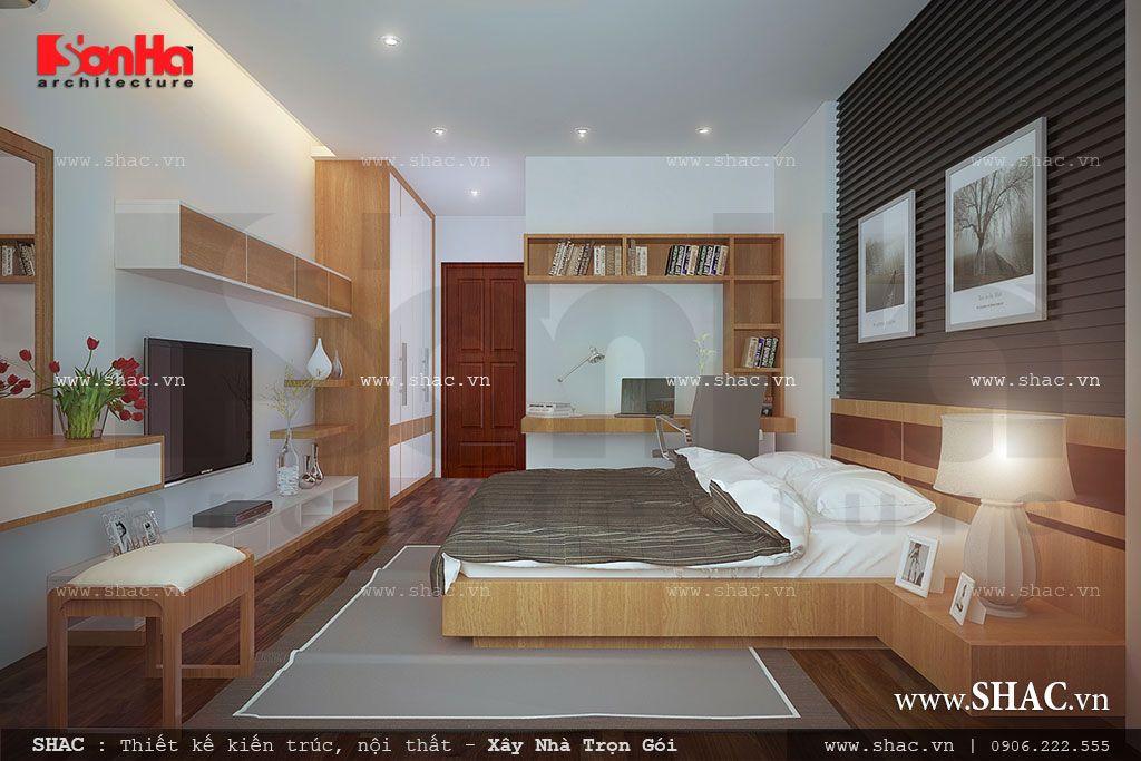 Phòng ngủ hiện đại rộng