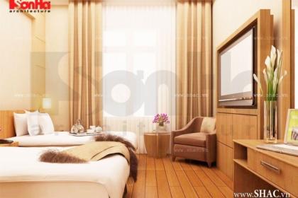 Phòng ngủ khách sạn 7 tầng