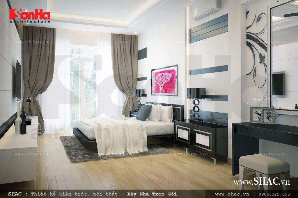 Phòng ngủ đơn giản nhưng đầy cá tính