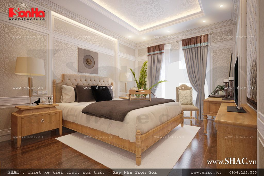 Thiết kế phòng ngủ phong cách trẻ trung