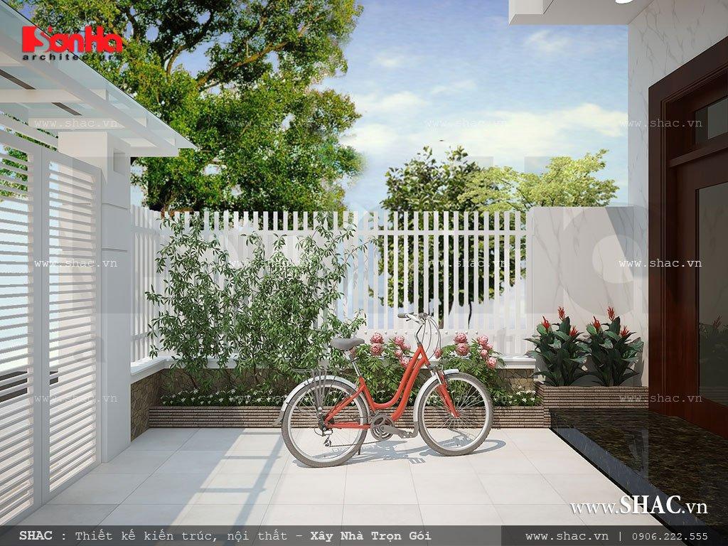 Thiết kế sân cổng