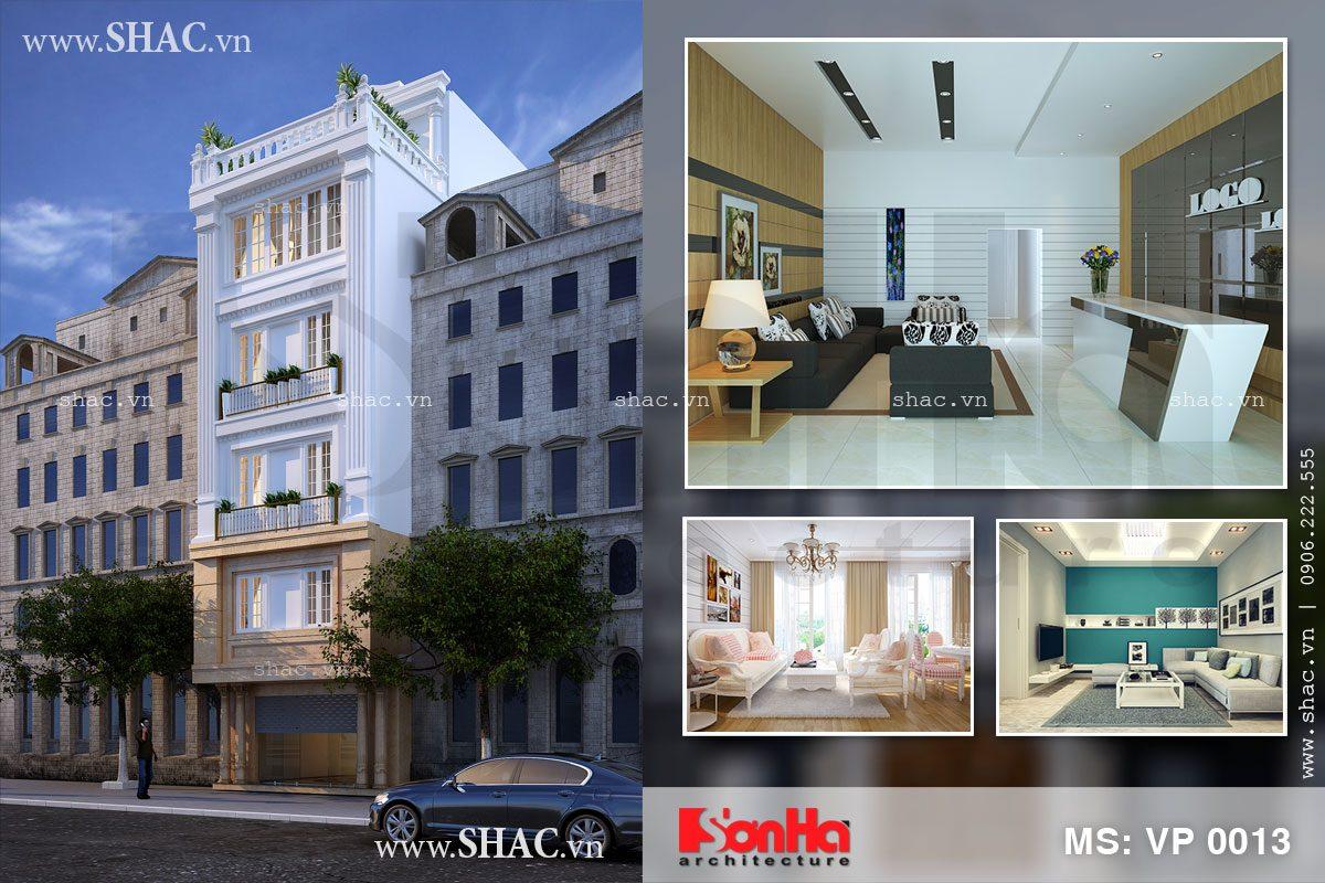 Thiết kế căn hộ cho thuê cao cấp