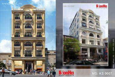 Thiết kế chung cư mini cao cấp kiến trúc Pháp