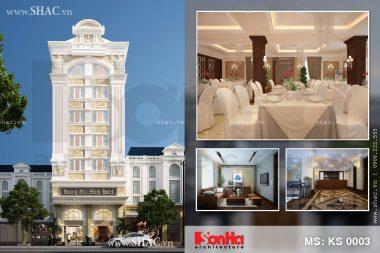 Thiết kế khách sạn 3 sao sang trọng