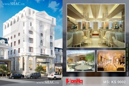 Thiết kế khách sạn 7 tầng