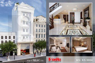 Thiết kế khách sạn mini 5 tầng