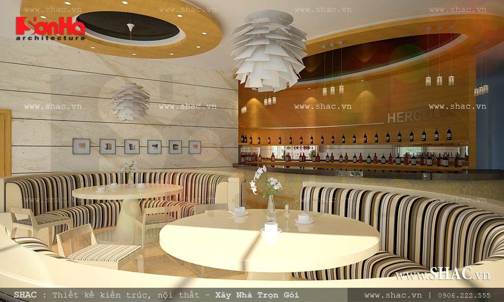 Thiết kế khu cafe