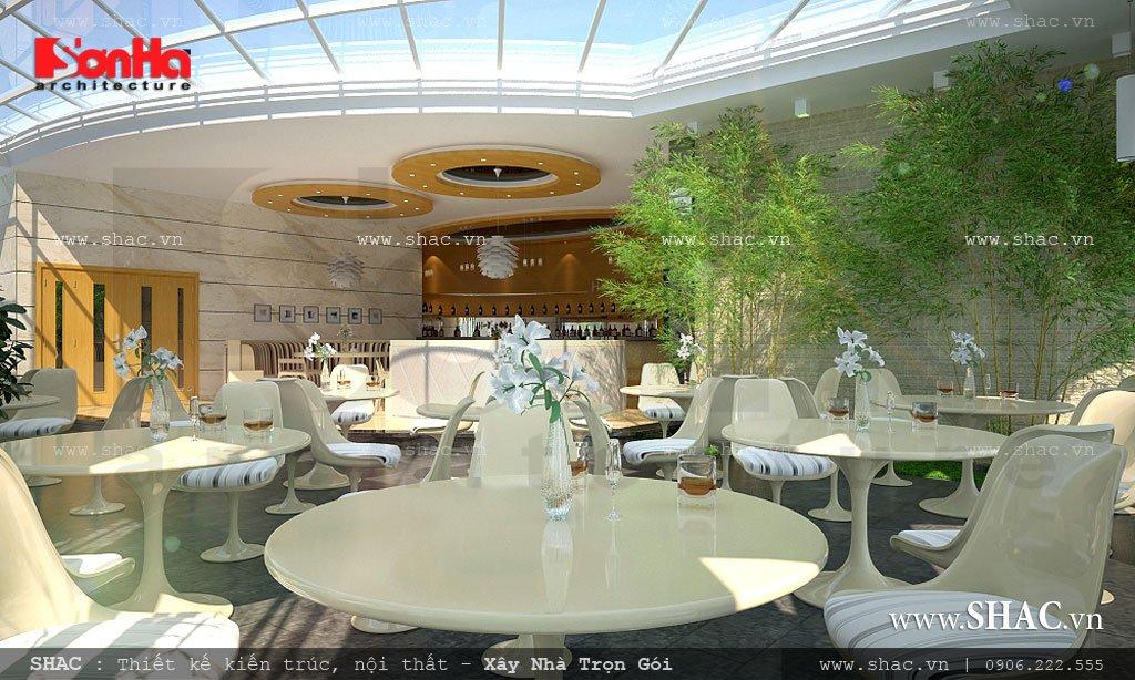 Thiết kế khu cafe cho khách sạn