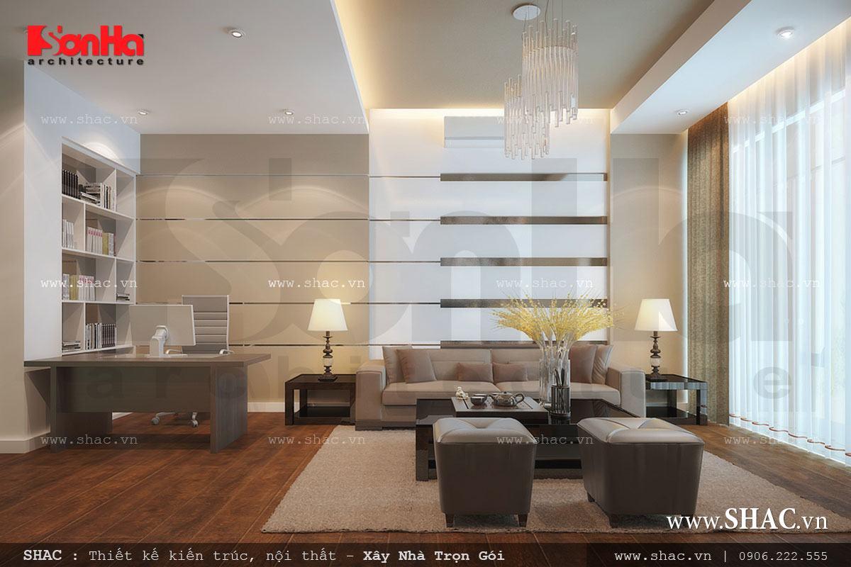 Thiết kế nhà ở kết hợp văn phòng công ty - NOD 0073 12