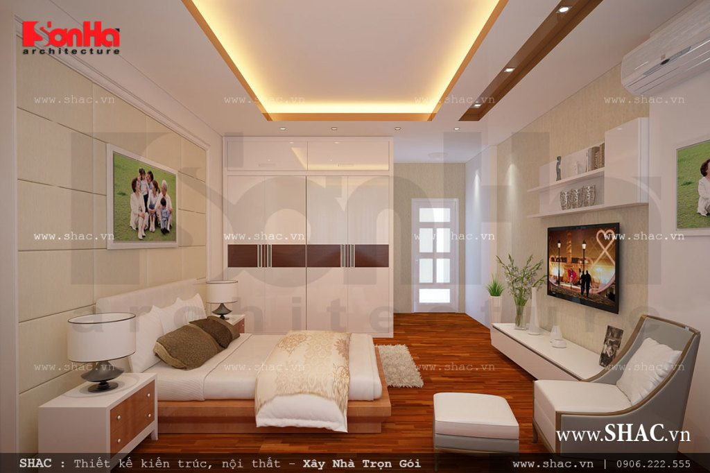 Phòng ngủ ba mẹ
