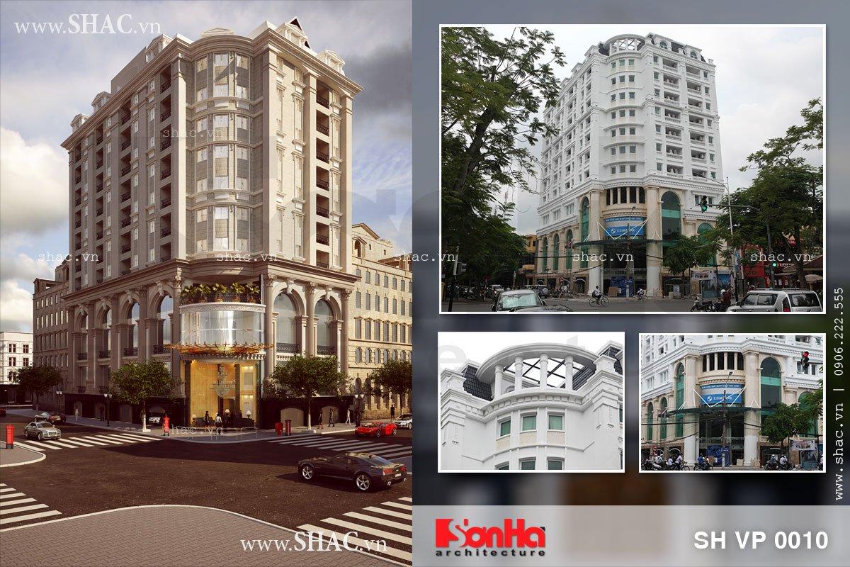 Thiết kế tòa nhà văn phòng 7 tầng tại Hải Phòng
