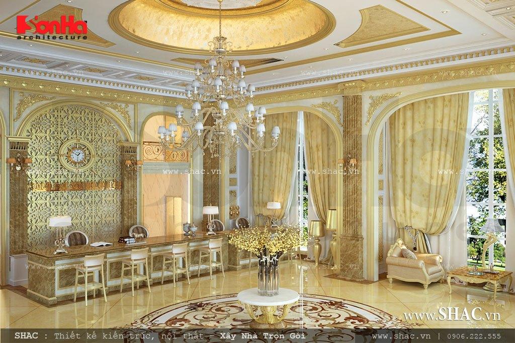 Đại sảnh tầng 1 đẹp