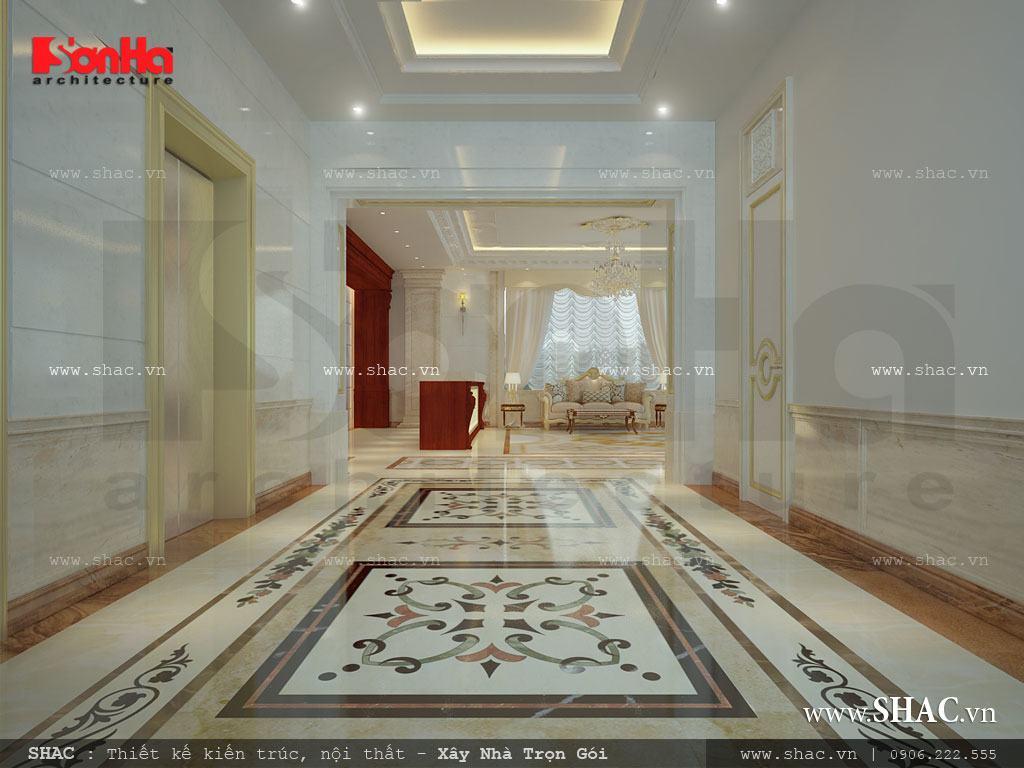 Khu hành lang tầng 1