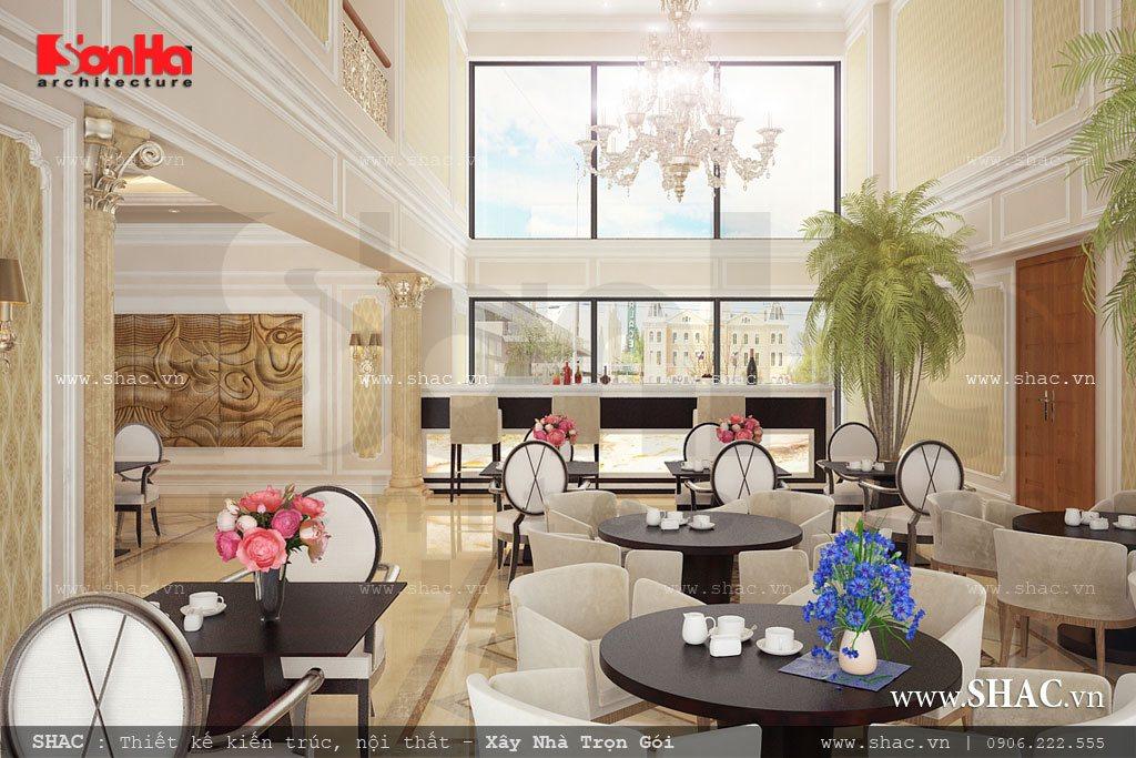 Khu cafe khách sạn