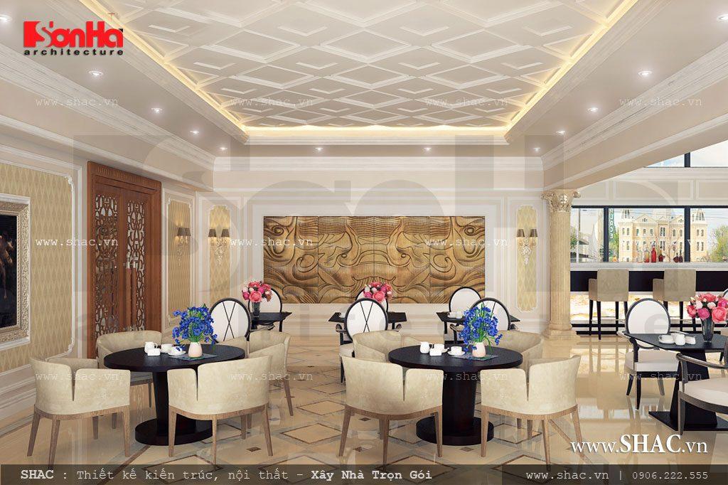Khu cafe 2 của khách sạn