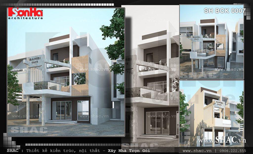 Kiến trúc quán cafe