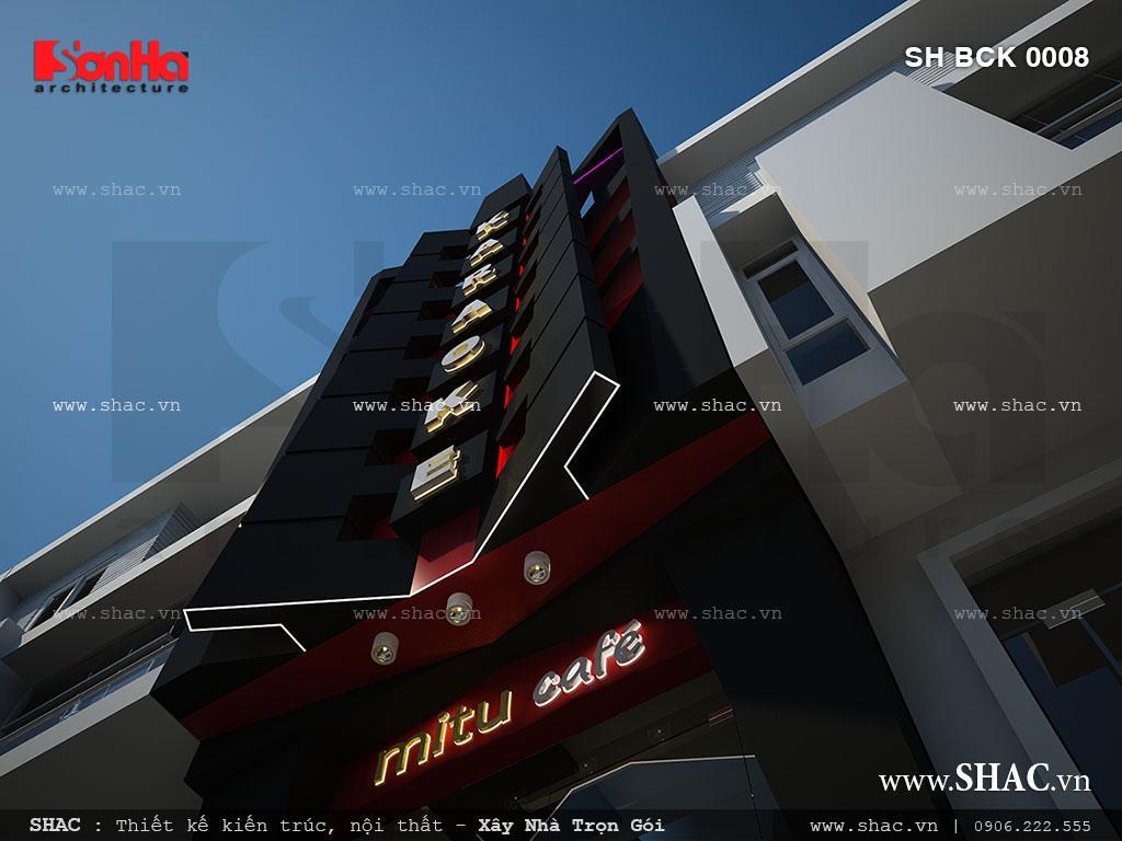 Kiến trúc hiện đại của quán karaoke