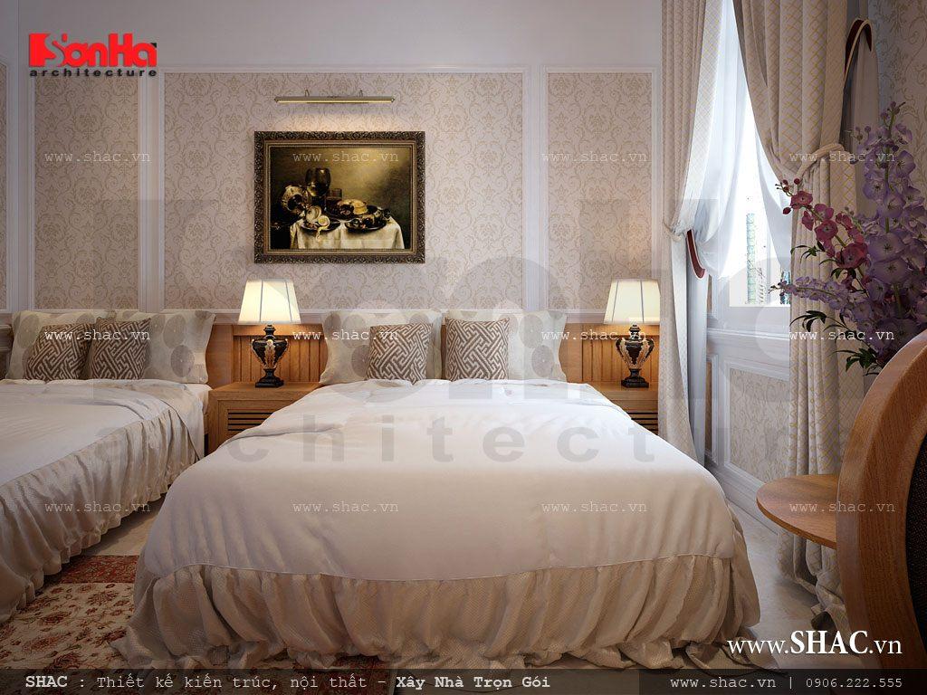 Mẫu phòng ngủ cho khách sạn