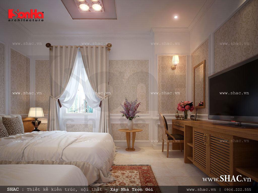 Mẫu phòng ngủ đôi cho khách sạn
