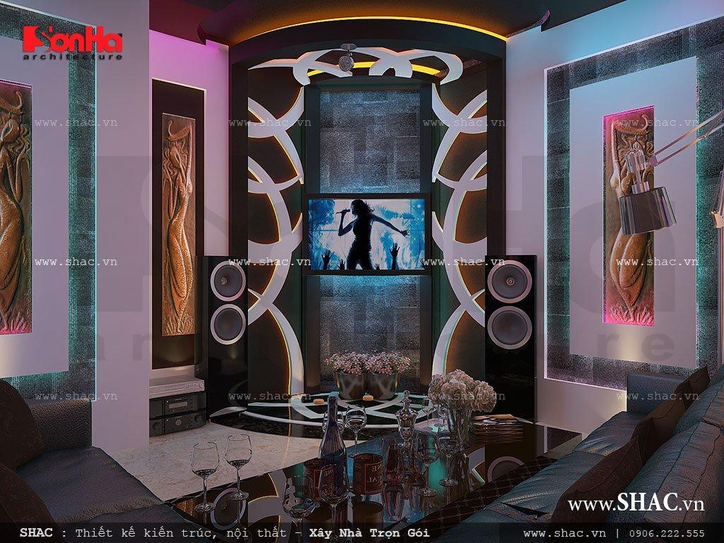 Phòng karaoke đẹp