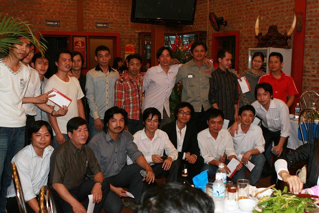 Tập thể nhân viên Sơn Hà 2010