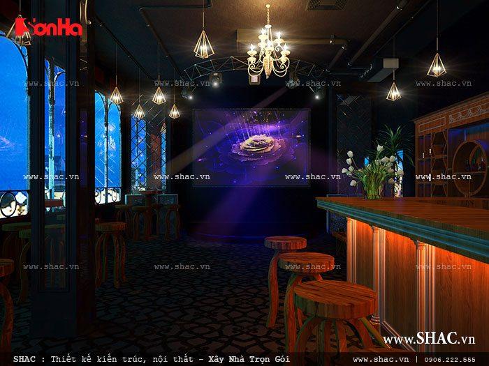 Tầng 2 của quán bar