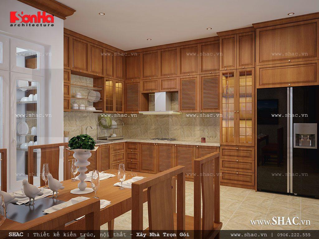Phòng bếp nội thất đẹp