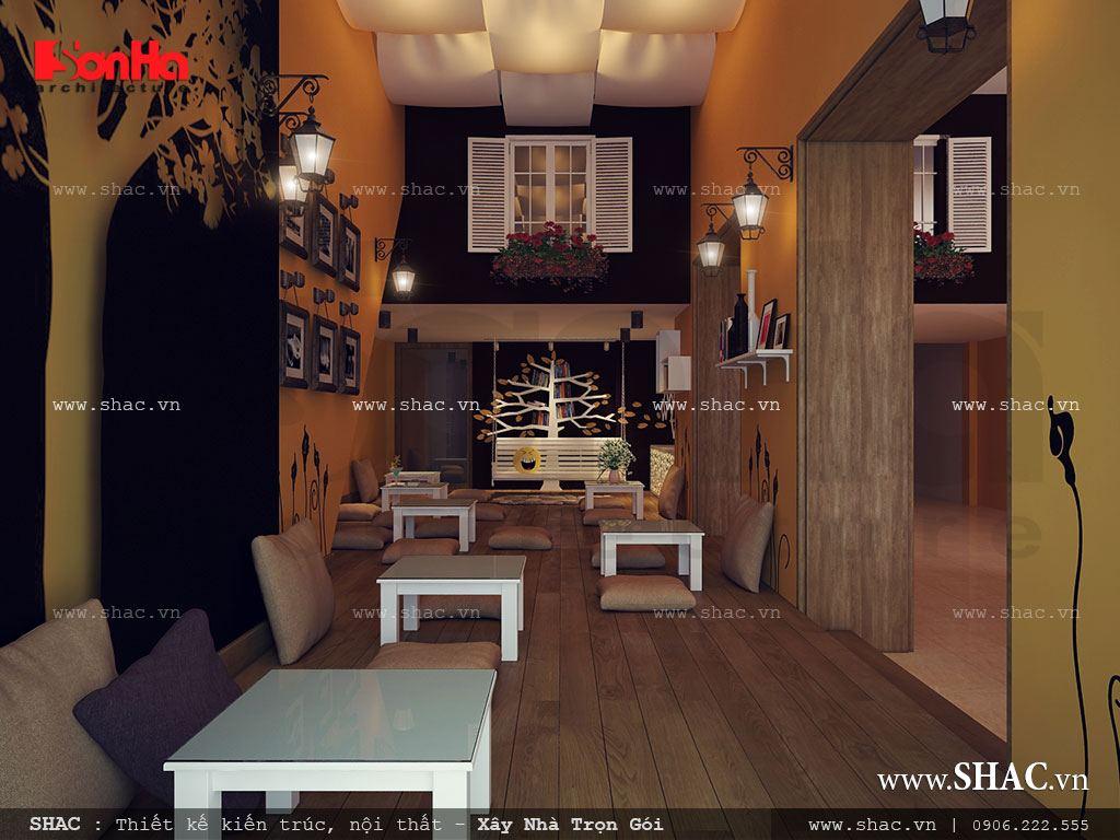 Trang trí phòng cafe teen đẹp