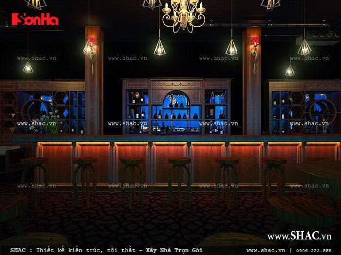 Nội thất quán bar