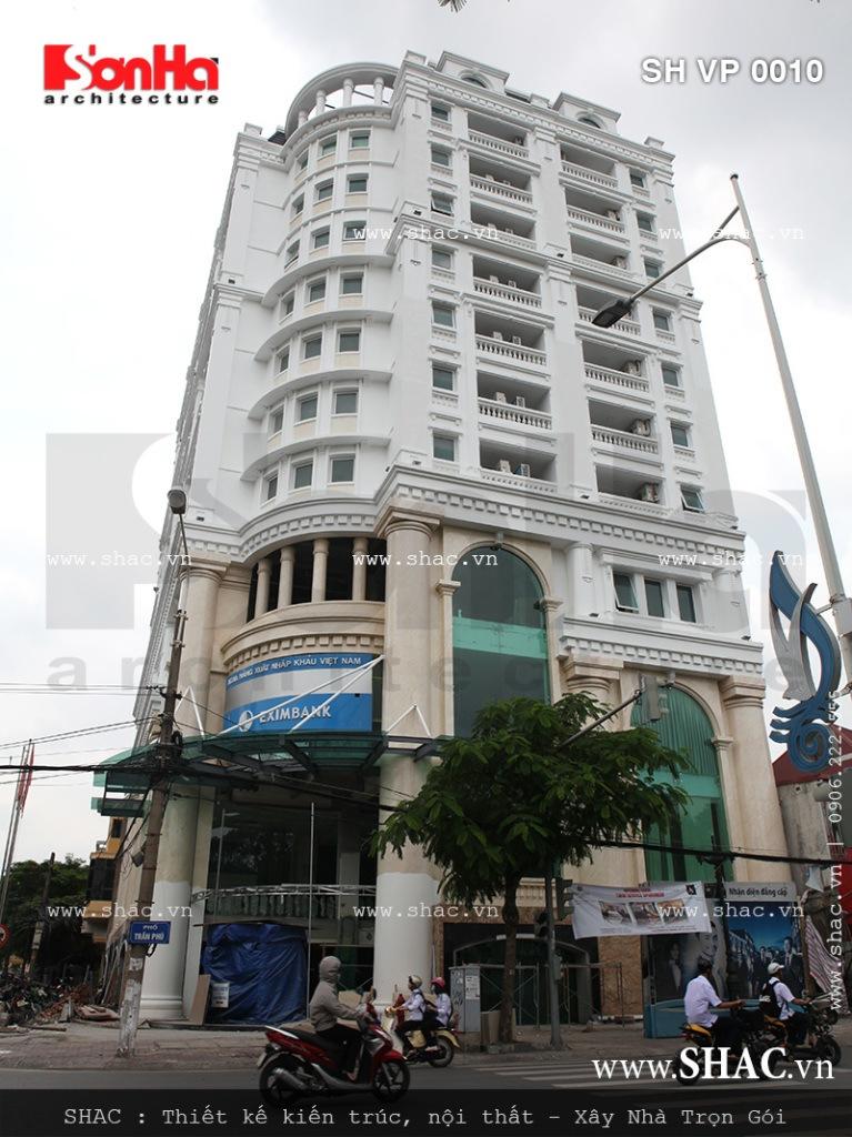Phối cảnh thực tế tòa nhà