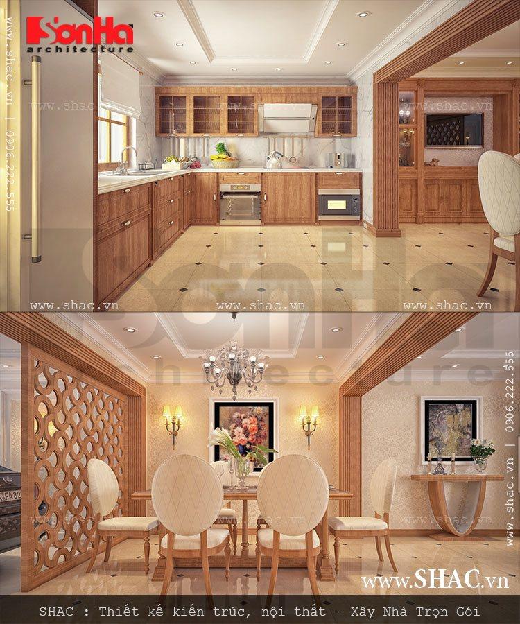 Thiết kế bếp ăn