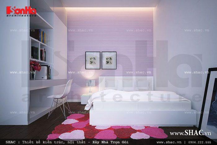 thiết kế phòng ngủ kiểu cổ điển tại hà nội