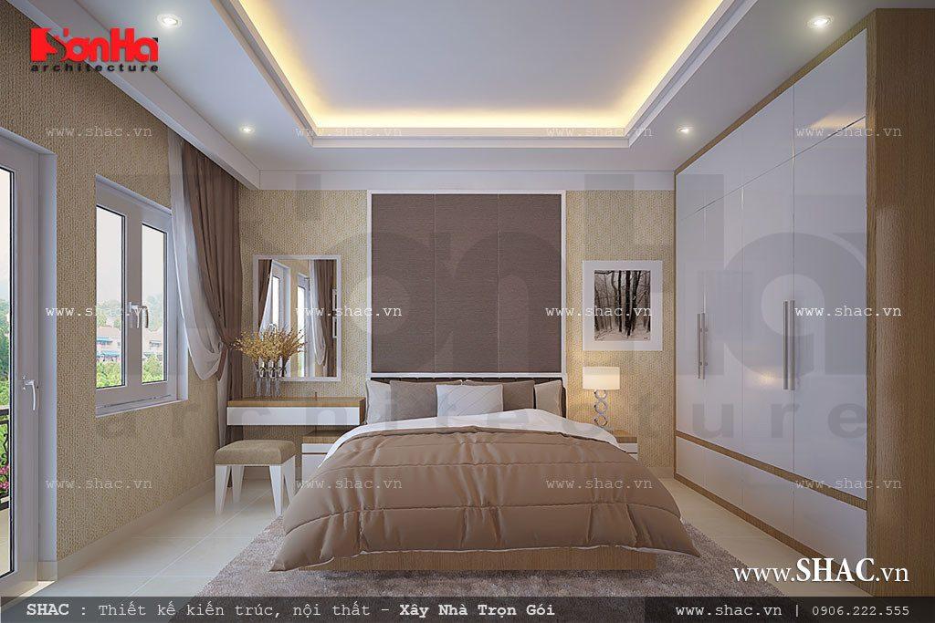 Phòng ngủ thoáng