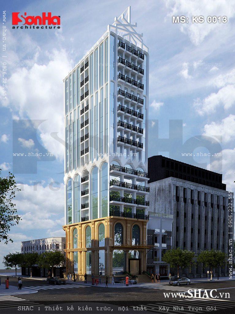 Thiết kế khách sạn tại Khánh Hòa