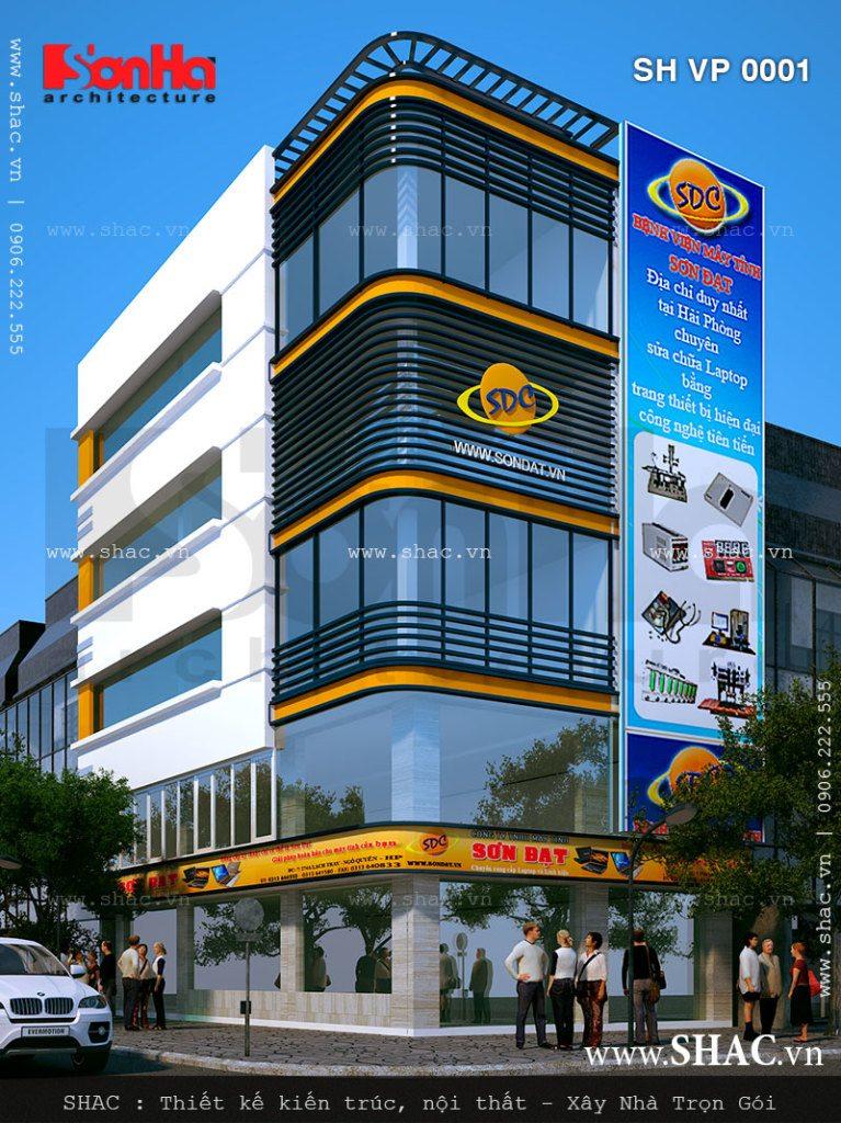 Phương án thiết kế tòa nhà văn phòng