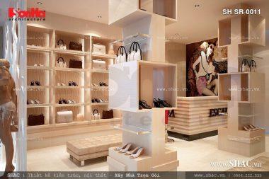 Thiết kế Shop túi xách giày dép hàng hiệu